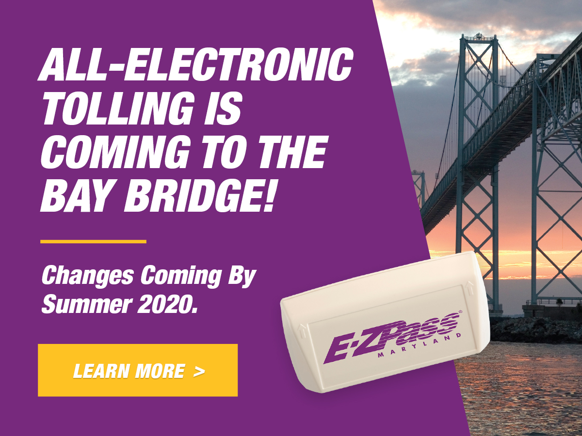 All-Electronic Tolling is coming to the Bay Bridge!  Changes Coming By Summer 2020